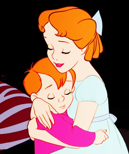 *WENDY & MICHAEL DARLING ~ Peter Pan,, 1953