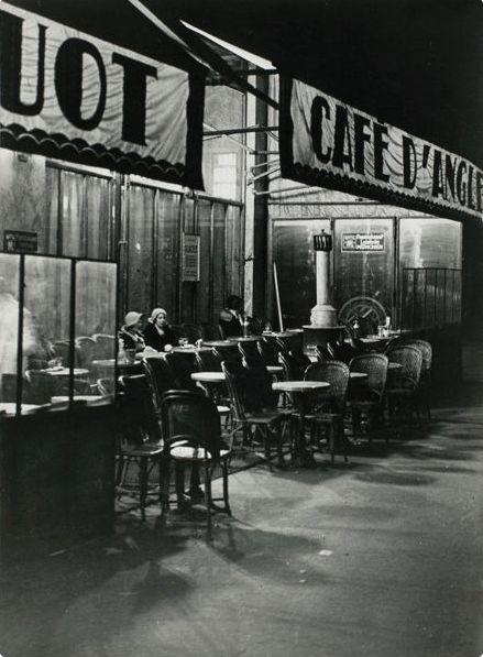 Brassaï Café d'Angleterre, Paris 1931