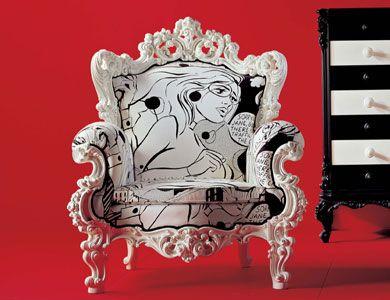 Poltrona GIACOMO poltrona Art. CR/841, finitura: bianco opaco, tessuto: cat. E  cm 98x90x h.116 - h.s.49