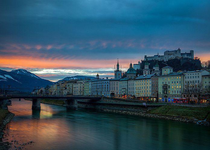 Vieille ville de Salzbourg : la ville de Mozart