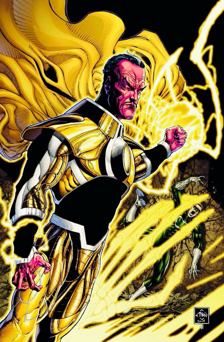 Sinestro by Ethan Van Sciver