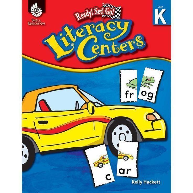 READY SET GO LITERACY CENTER GR K   – Products