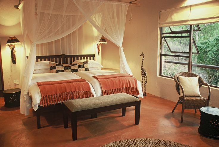 Your bedroom canopy bed