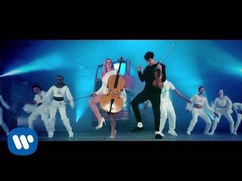#CleanBandit - #Stronger  - this will have you smiling, laughing, then probably dancing! It's brilliant! :-)