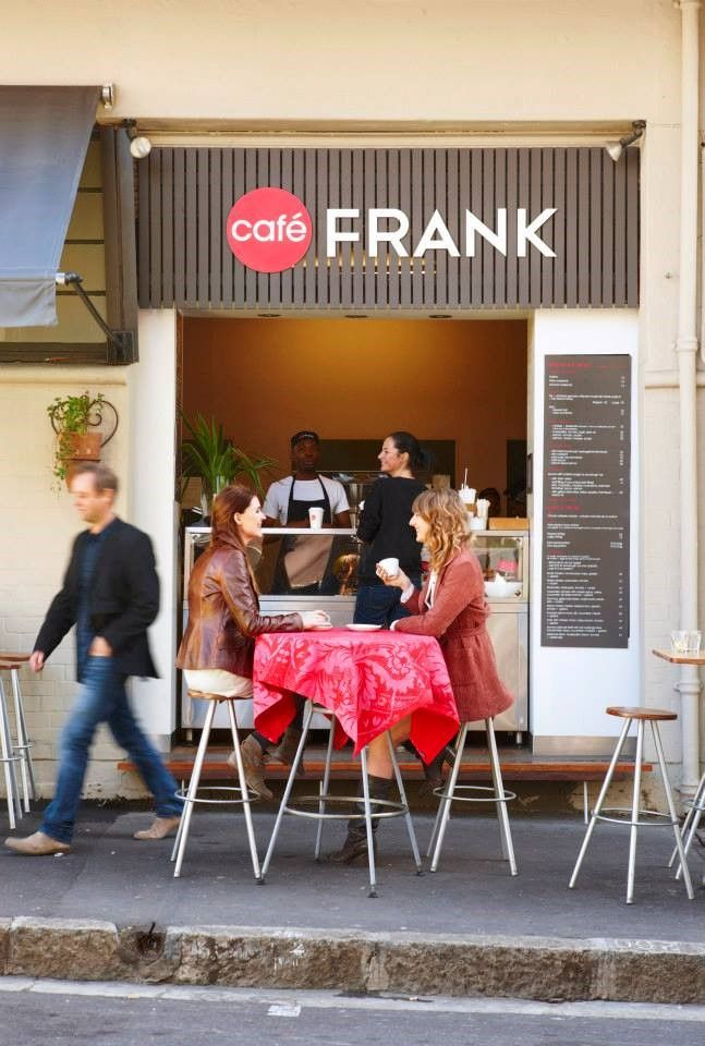 Cafe Frank is popular during lunch in Cape Town. #travel #capetown #restaurants