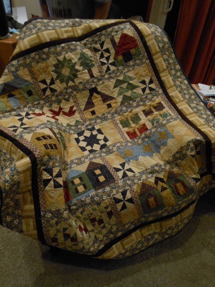 Pictures of thimbleberries quilts | This half-size ...