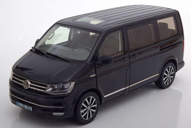 Volkswagen Multivan T6 Highline  Jahrgang: 2016  Farbe: schwarzmetallic