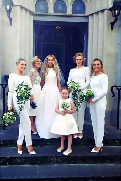 Jumpsuit bridesmaids