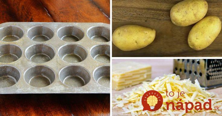 Chcete vyskúšať skutočne výnimočné jedlo zo zemiakov? Pripravte ich vo forme na muffiny.