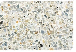 Exposed aggregate floor Boralstone polished concrete