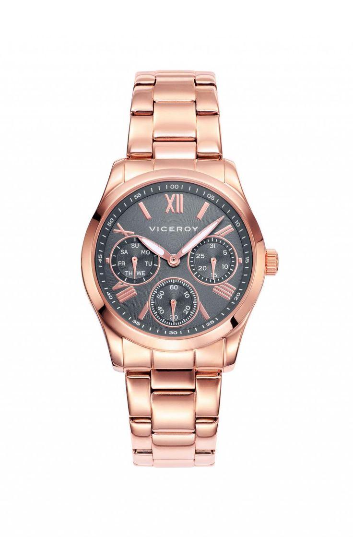 Hoy saldrán los últimos pedidos para el #DíaDeLaMadre, así que como última propuesta os mostramos un reloj de Viceroy en acero pavonado en rosa. Disponible en http://www.todo-relojes.com/detalle.asp?codigo=29005 por 149€ #relojesViceroy #pavonadorosa #todorelojes
