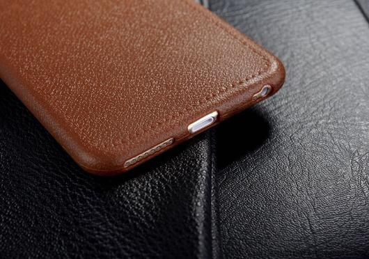 Brown Luxury Ultra Thin Leather Case For iPhone 5 and up  >>> Ultra Thin Leather Back Case with 100% high quality. Protect your phone from being scratched and dirty.