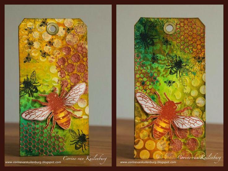 Corine's Gallery: Art Journey Honeybee