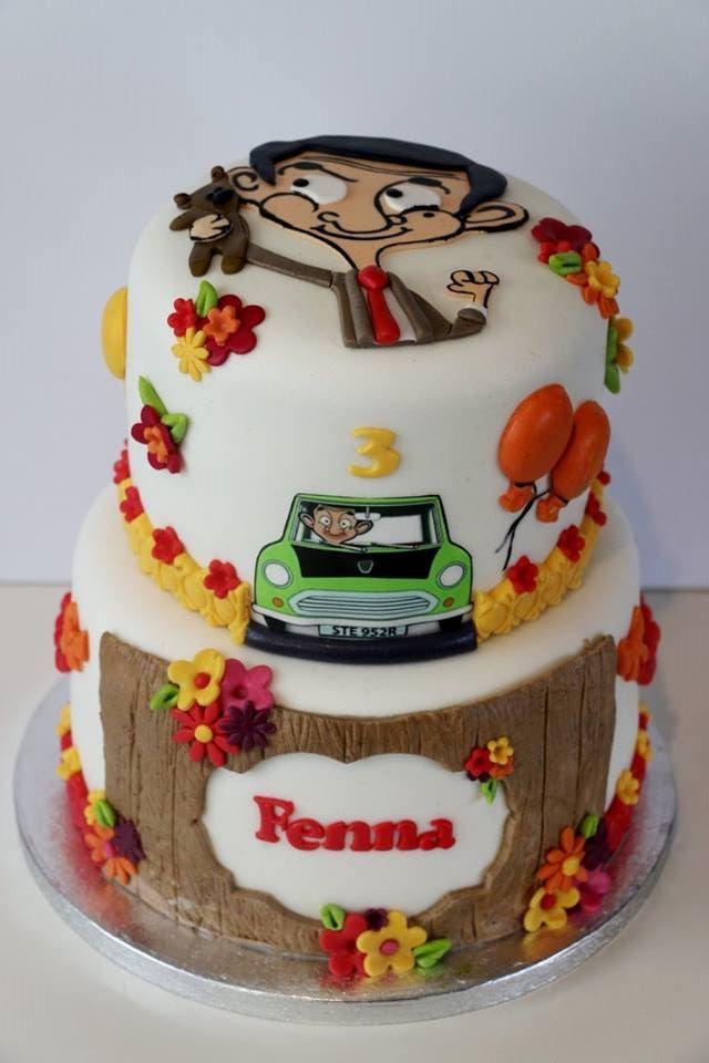 Mr Bean cake by Wendy's Taartenatelier
