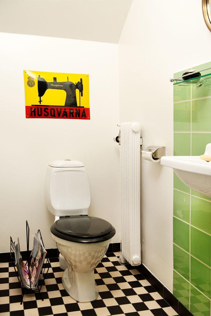 Byggfabriken – modern byggnadsvård: Inspirationsbilder – Gästtoalett funkis
