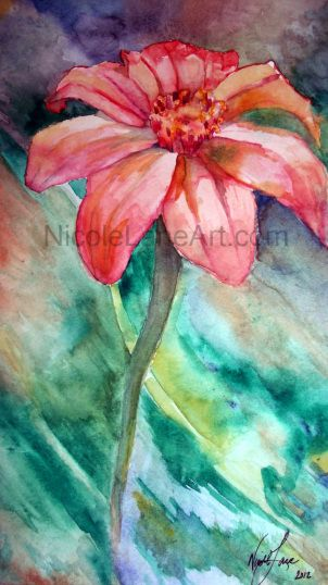 Nicole Lane Art Watercolour Painting