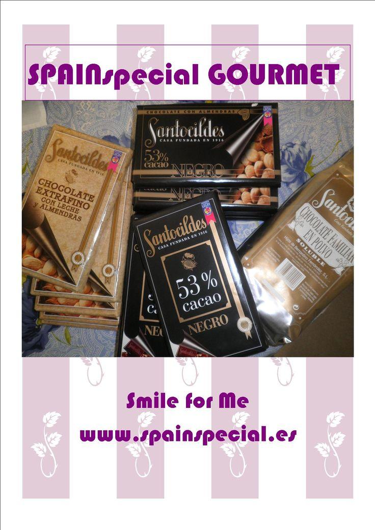 Chocolates Santocildes en Gourmet online www.spainspecial.es