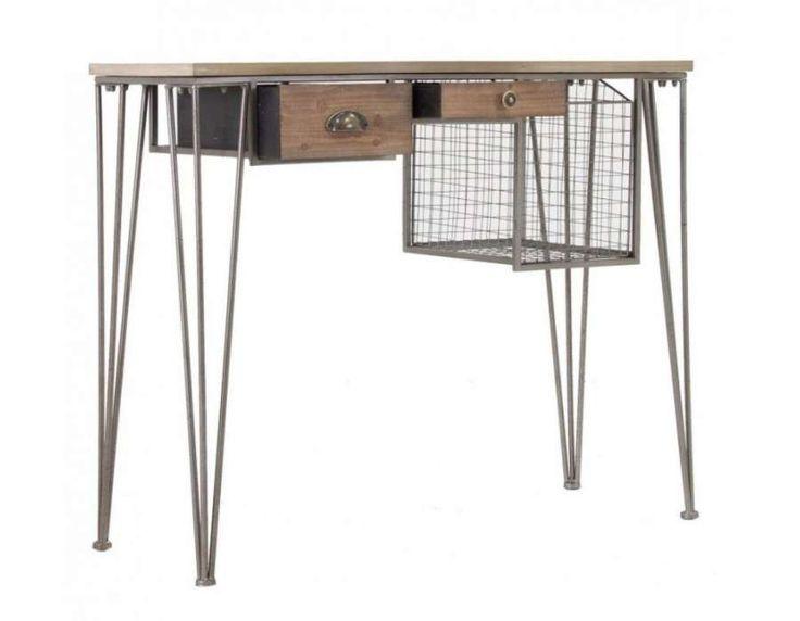 pin by le grenier de juliette on meubles industriels au grenier de juliette pinterest. Black Bedroom Furniture Sets. Home Design Ideas
