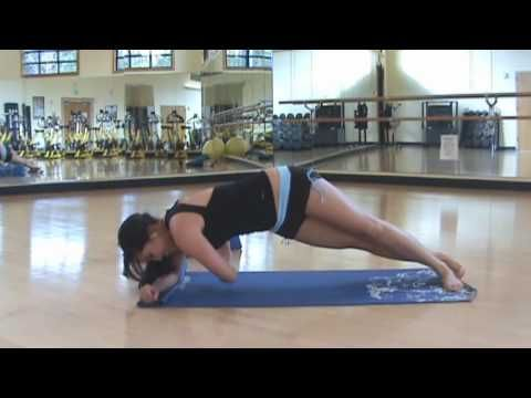 POP Pilates: Body Slimming Workout (Full 10 min) Pilates Video - YouTube