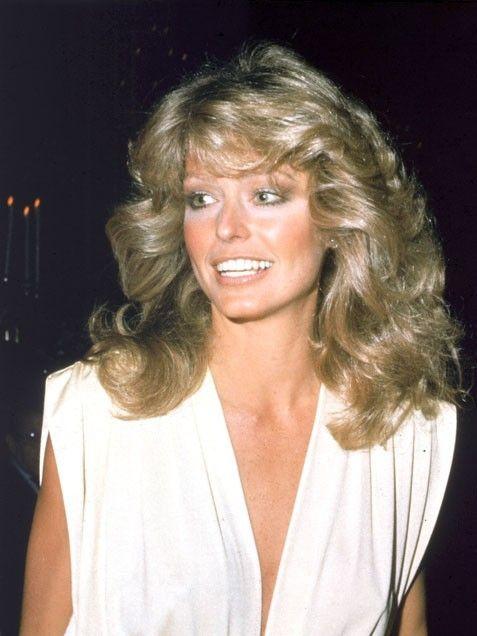 Ideas de peinados estilo años 70 como farrah fawcett