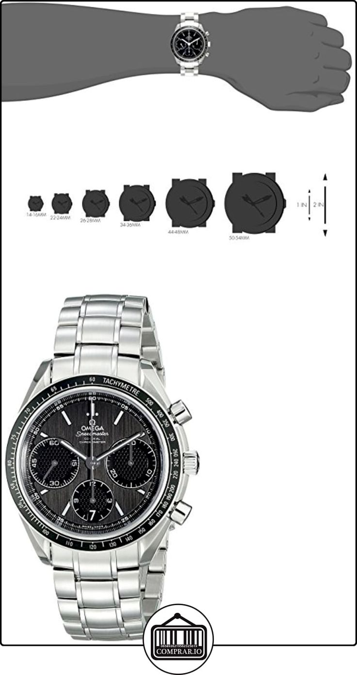 Omega Speedmaster Racing Automático Cronógrafo Negro Dial Acero inoxidable Acero Mens  ✿ Relojes para hombre - (Lujo) ✿ ▬► Ver oferta: http://comprar.io/goto/B00UUT3FUS