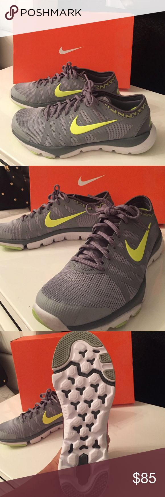 Nike Training Shoes NEW NIKE TRAINING FLEX SUPREME TR3 size: 8.5. 🔸I originally got these for $110 the lowest you can find them online is $90. Therefor $85 is my BEST PRICE at this moment! ❌NO TRADES❌ Nike Shoes Athletic Shoes