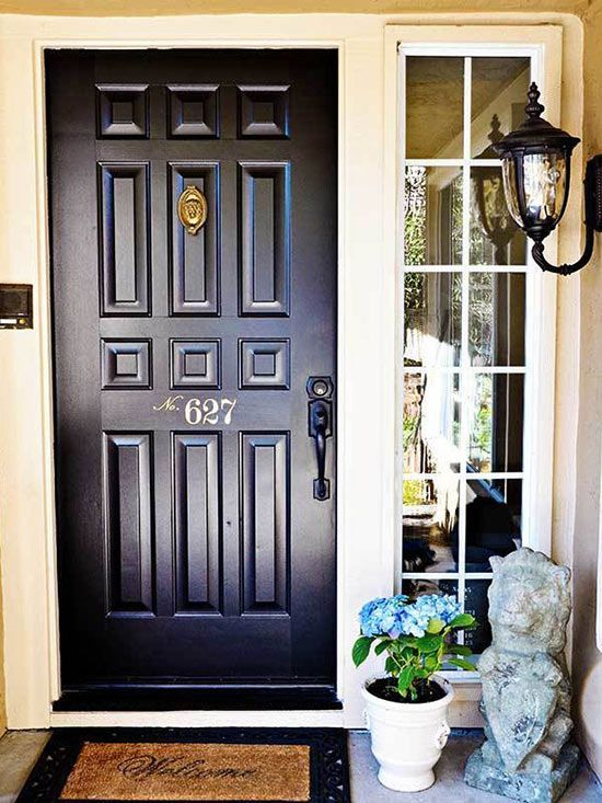 Make your own statement with these front door makeover ideas.