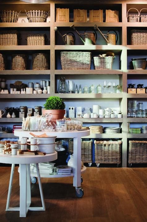 Capital Kitchen Shop and Restaurant in Melbourne, Australia. Lovely display.