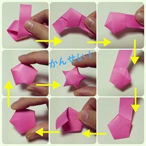 幸運を招く小さな星♡折り紙で作るラッキースターが話題 - NAVER まとめ