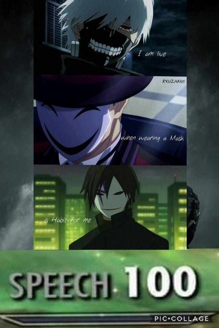 Anime Animemes Skyrim Speech 100 Speech100 Skill Memes