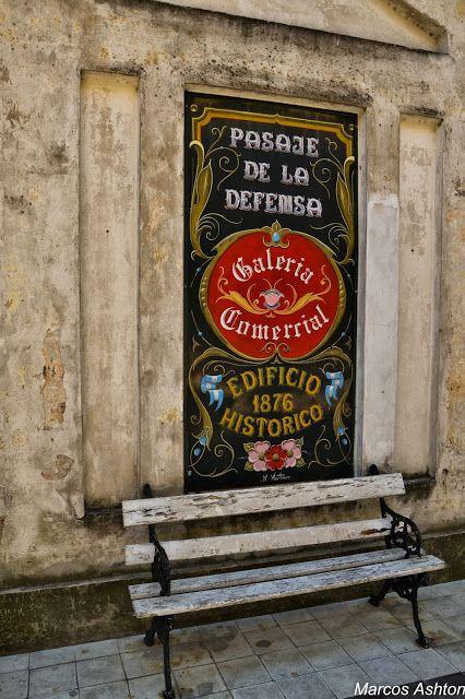 MisteriosaBsAs: Pasaje de la Defensa / Defensa Alley #BuenosAires #SanTelmo #Argentina