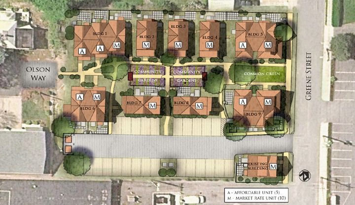 Cottage Housing Developments M Group Tiny House Community Pocket Neighborhood Site Development Plan