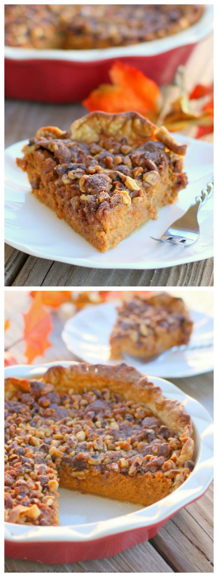 Streusel Topped Pumpkin Pie - the-girl-who-ate-everything.com