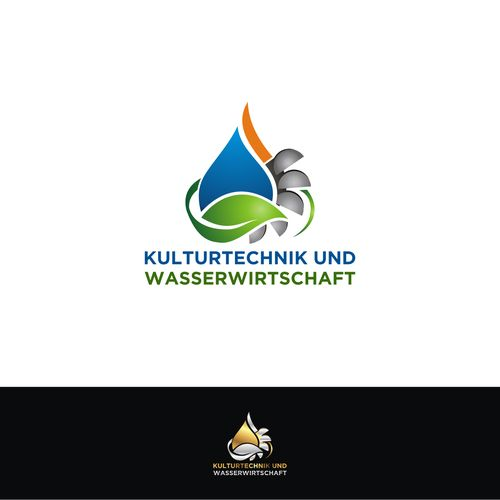"""Kulturtechnik und Wasserwirtschaft"" or/and ""KTWW"" (its the German Translation of Civil Engineering and Watermanagement) - ""Civil Engineering and Water Management"" Logo / Graphic / Coat of Arms for this study (Austria)"