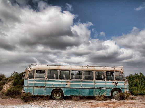 Old bus Kythira