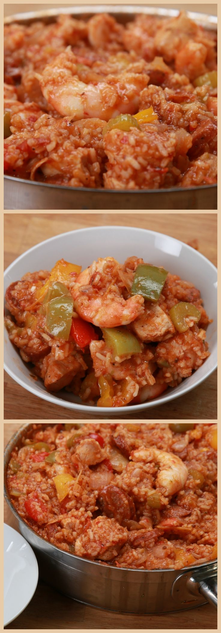 One-Pan EASY Jambalaya Perfect For Family Dinners