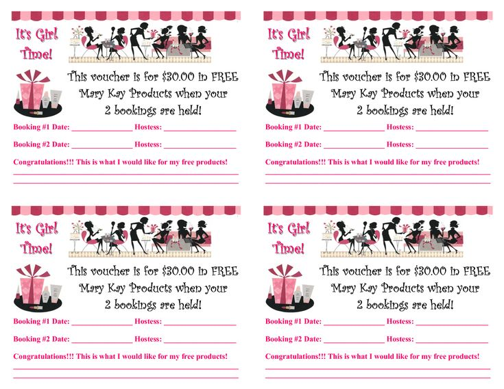 mary kay flyers | Hostess Rewards Booking Voucher 07.pub _Read-Only_ www.marykay.com/carolina.rodriguez