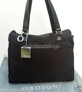 Oroton Nappy Baby Bag Tote Handbag Change Mat,Wet Pack & Botle Holder NEW $495