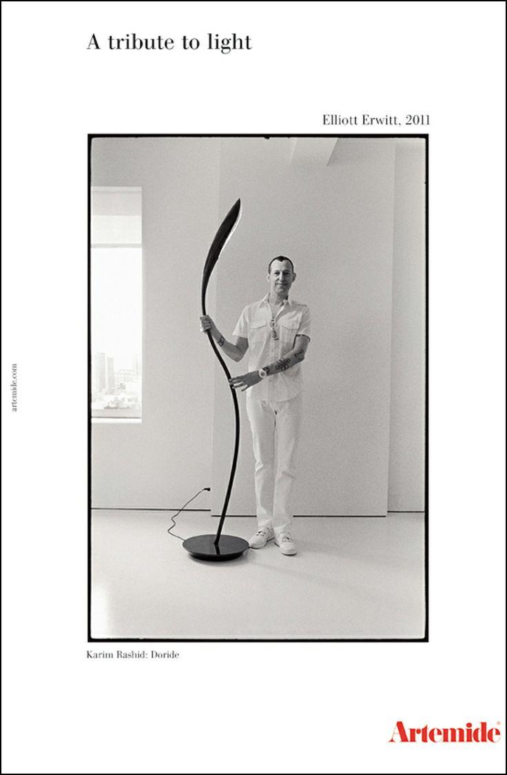 Adv Campaign by Elliott Erwitt    Featured: Karim Rashid and DORIDE http://on.fb.me/1hPP4OL