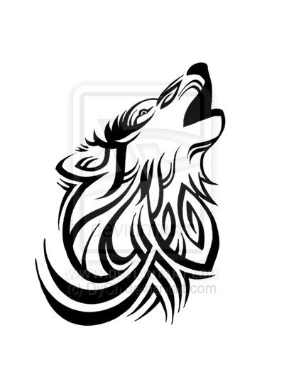 Lone Wolf Tattoo by ~DyCh on deviantART...I thk my bro would like this...