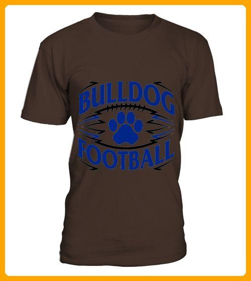 Men S Quot Bulldog Football Quot Tshirt For Football Fans Large Baby Blue - Fan shirts (*Partner-Link)