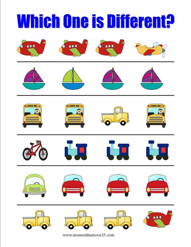 Which-One-is-Different-transportation.jpg 1.275×1.650 pixel