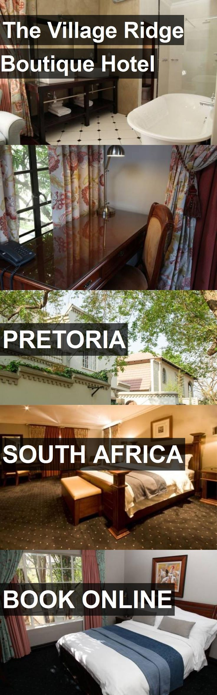 The Village Ridge Boutique Hotel in Pretoria, South Africa. For more information, photos, reviews and best prices please follow the link. #SouthAfrica #Pretoria #travel #vacation #hotel