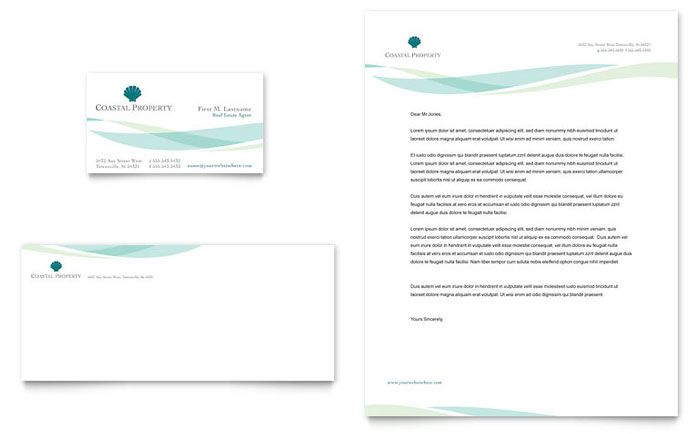 19 best fbs letterhead images on pinterest business cards carte coastal real estate business card and letterhead template design by stocklayouts spiritdancerdesigns Image collections