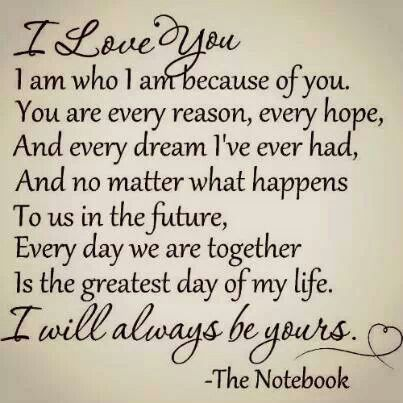 I love this! For my husband, i love you <3