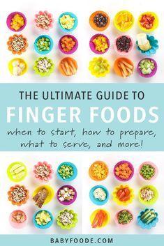 Der ultimative Leitfaden für Fingerfood zum Absetzen von Babys   – Baby recipes