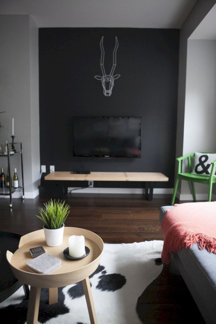 Best 25+ Black accent walls ideas on Pinterest | Home ...