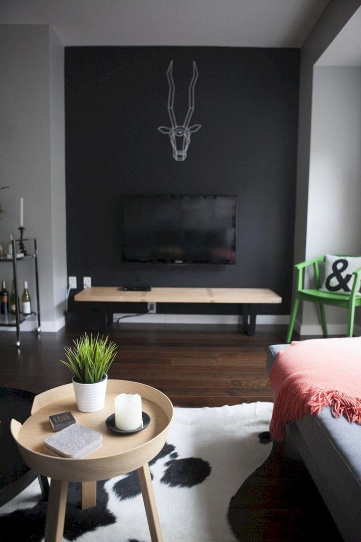 Best 25+ Black accent walls ideas on Pinterest | Home ...