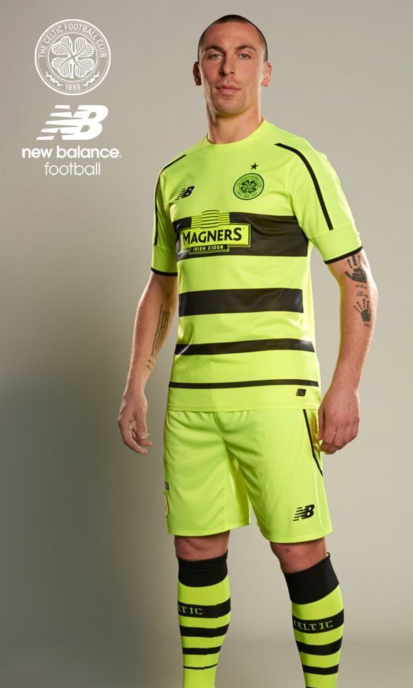 The new ‪#‎Celtic‬ 2015/16 Euro kit by New Balance Football as worn by Captain Scott Brown. Buy Direct and Pre-order now from all Celtic FC shops.  ‪#‎LiveForCeltic‬