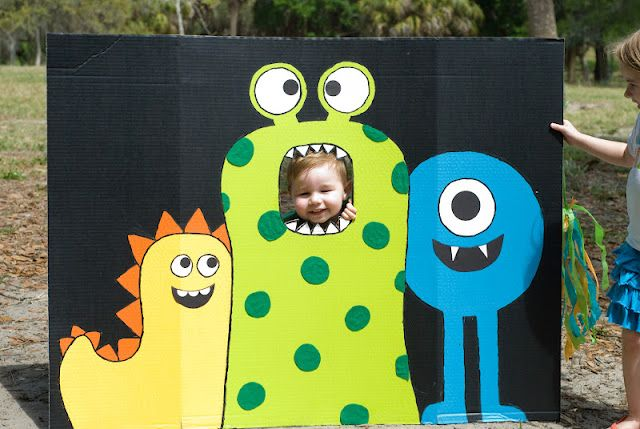 Monster Birthday Party Jackson's first birthday party idea!